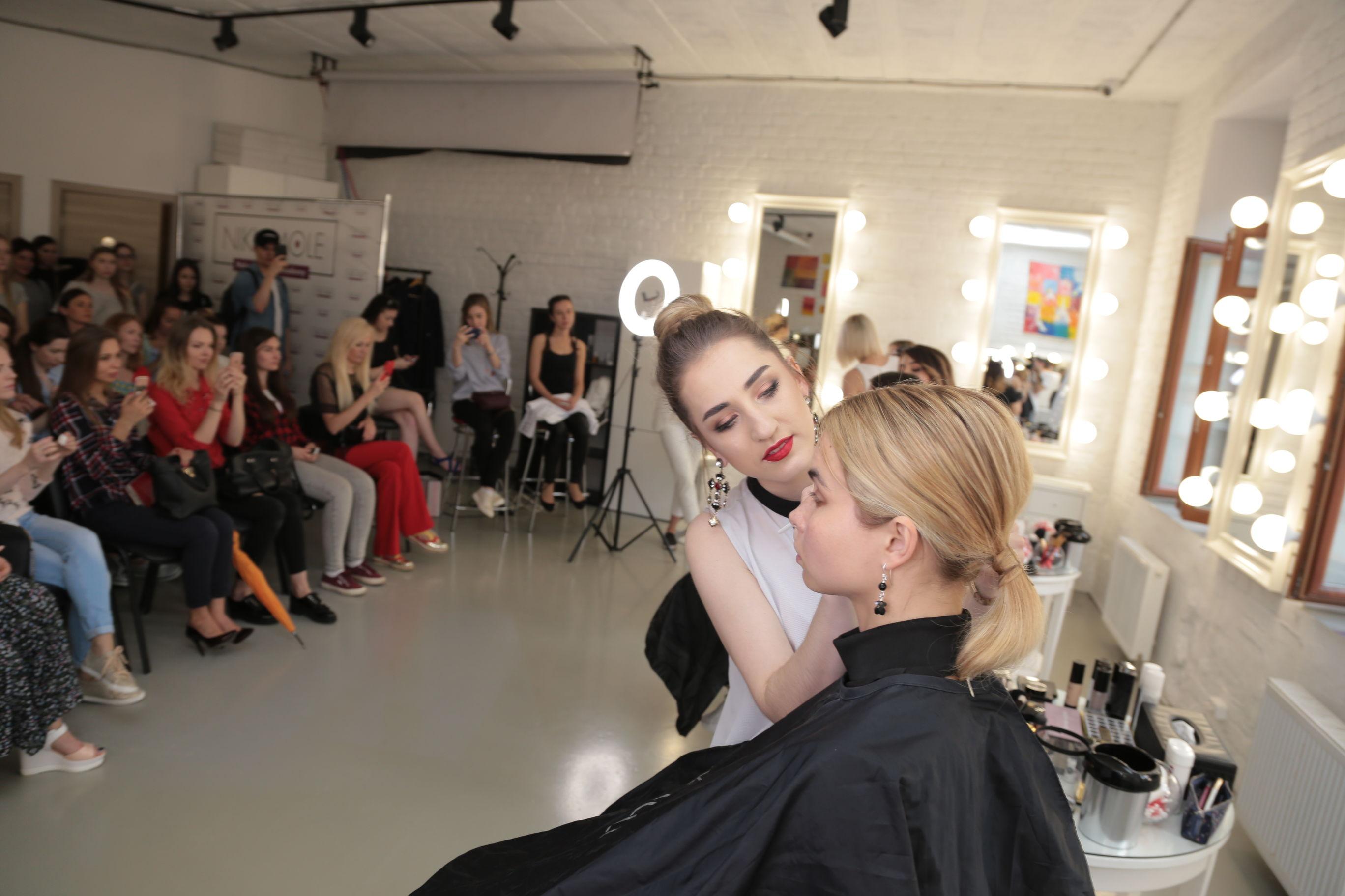 Мастер класс макияж