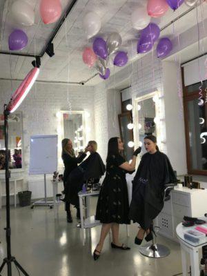 обучение макияжу в Москве